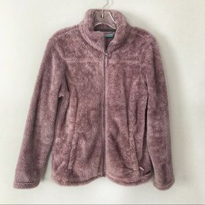 Free Country Lilac Fleece Jacket Size Small